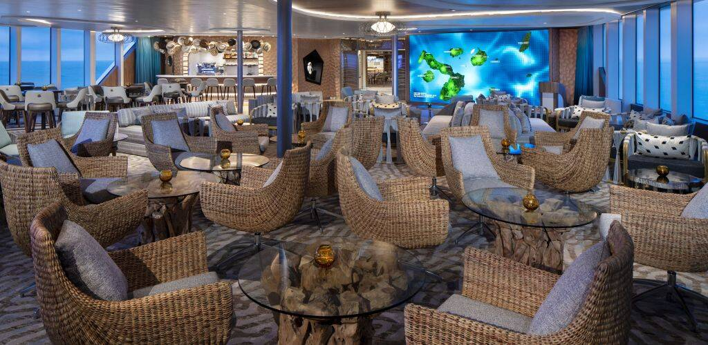 Celebrity Flora Celebrity Cruises - Galapagos Discovery Lounge