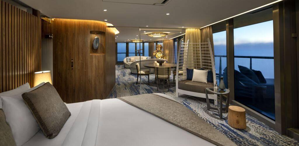 Celebrity Flora Penthouse Bedroom
