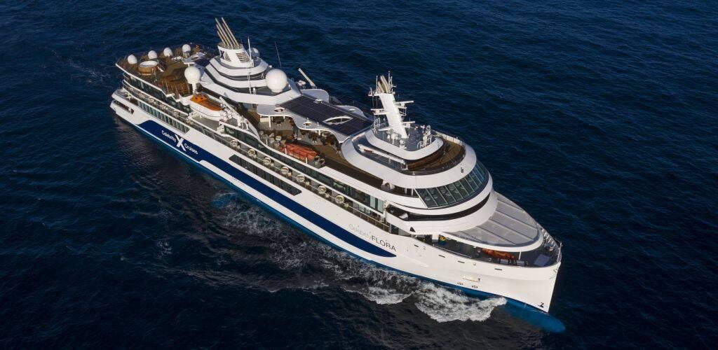 Ocean Grill Celebrity Flora Celebrity Cruise ship - Galapagos